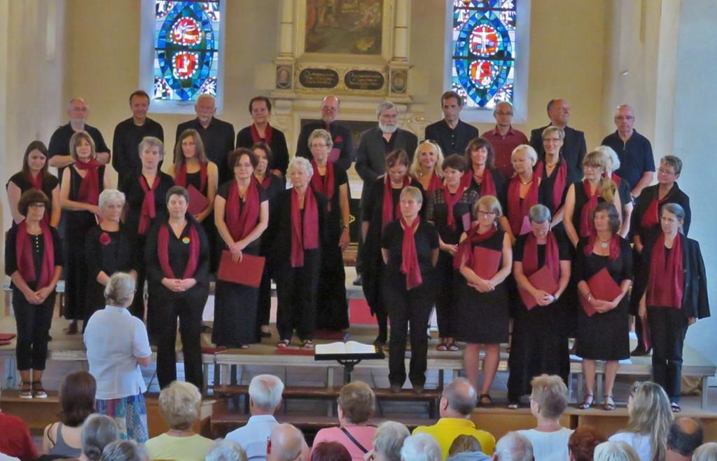 Unser Sommerkonzert in der Marienkirche am 28.8.2016